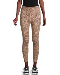 All Fenix High-waisted Leopard-print Leggings - Multicolour