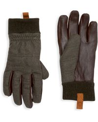 UGG Smart Mixed-media Gloves - Multicolour