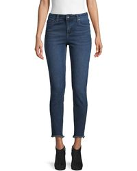 Max Studio High-rise Skinny Jeans - Blue