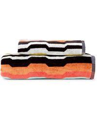 Missoni Wilbur 2-piece Bath & Hand Towel Set - Blue Multi
