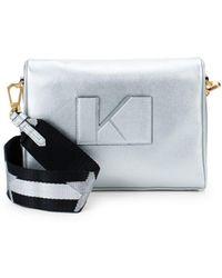 Kendall + Kylie - Courtney Leather Shoulder Bag - Lyst