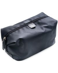Bey-berk Nylon Toiletry Bag - Black