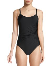 CALVIN KLEIN 205W39NYC Starburst One-piece Swimsuit - Black