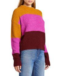 A.L.C. Robertson Colorblock Jumper - Pink