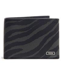 Tumi Tiger Double Bi-fold Wallet - Black