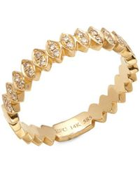 EF Collection - 14k Yellow Gold & Diamond Marquis Ring - Lyst