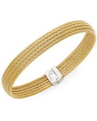 Alor Women's 18k Gold & Stainless Steel Multi-row Bracelet - Metallic
