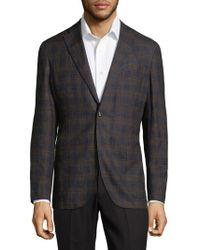 Boglioli - Plaid Suit Jacket - Lyst