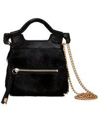 Foley + Corinna - Tiny City Leather Crossbody Bag - Lyst