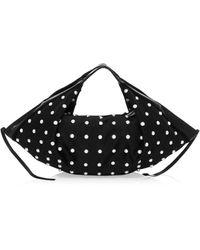3.1 Phillip Lim Mini Luna Faux Pearl Top Handle Bag - Black