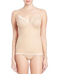 eb1fc14179 Lyst - DKNY Firm Control Signature Skin Shapewear Camisole in Natural