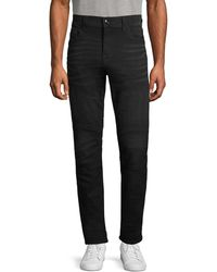 True Religion Relaxed-fit Whiskered Jeans - Black