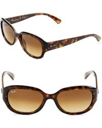 Ray-Ban - 55mm Square Sunglasses - Lyst