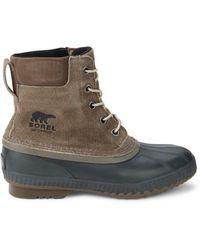 Sorel Men's Cheyanne Ii Suede Boots - Major - Size 11 - Multicolor