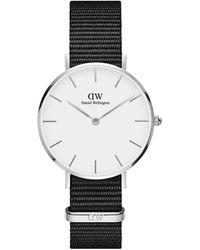 Daniel Wellington Petite Cornwall Stainless Steel & Textile-strap Watch - Metallic