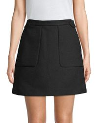 Zadig & Voltaire - High-waisted Mini Skirt - Lyst