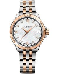 Raymond Weil Tango Diamond & Mother-of-pearl Stainless Steel Bracelet Watch - Multicolor