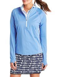Vineyard Vines Half-zip Performance Sweatshirt - Blue