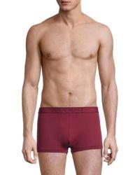 2xist 2(x)ist Men's Speed Dri Mesh Trunks - Tawny Port - Size M - Red