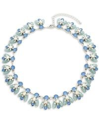Saks Fifth Avenue - Crystal Collar Necklace - Lyst