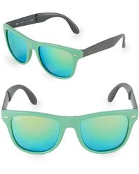 Ray-Ban - Folding Wayfarer Sunglasses - Lyst