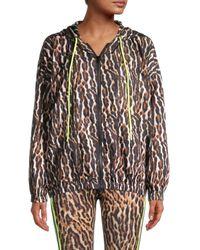 Pam & Gela Ocelot-print Jacket - Natural
