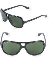 Ray-Ban - 59mm Polarized Pilot Sunglasses - Lyst