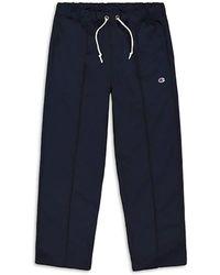 Champion Men's Straight-leg Drawstring Trousers - Navy - Size Xs - Blue