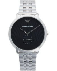 Emporio Armani Stainless Steel Bracelet Watch - Metallic