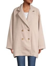 Free People Hannah Super Soft Slouchy Blazer - Natural