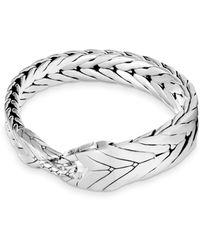 John Hardy Modern Silver Chain Bracelet - Metallic