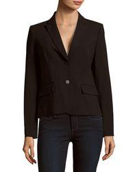 CALVIN KLEIN 205W39NYC Double Button Jacket - Black