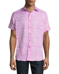 Robert Graham - Morley Button-down Shirt - Lyst