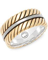 Effy Sterling Silver Band Ring - Metallic