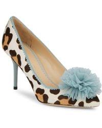 Charlotte Olympia | Desire Leopard Stiletto Pumps | Lyst