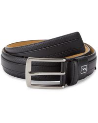 PGA TOUR All In One Bonded Leather Belt - Black