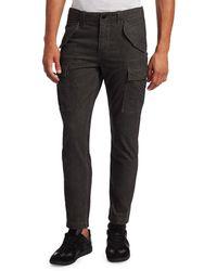 Joe's Jeans Men's Edelman Twill Cargo Trousers - Charcoal - Size 31 - Grey