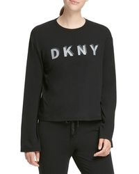 DKNY Logo Sweatshirt - Black