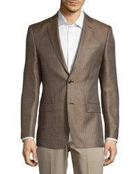 Versace - Front-button Silk Sport Coat - Lyst