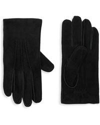 Portolano Suede Gloves - Black