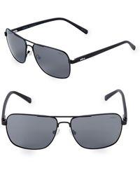 Revo - 59mm Aviator Sunglasses - Lyst