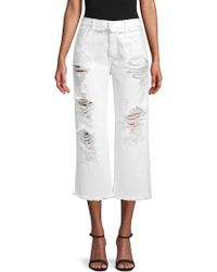 ei8ht dreams - Straight Cropped Jeans - Lyst