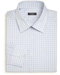 Saks Fifth Avenue - Regular-fit Bishop Check Dress Shirt - Lyst