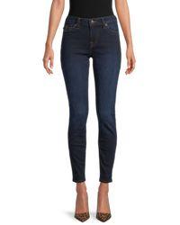True Religion Jennie Flap-pocket Cropped Jeans - Blue