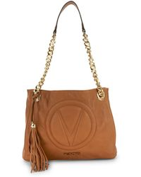 Valentino By Mario Valentino - Luisa Leather Tote Bag - Lyst