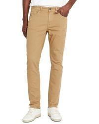 Buffalo David Bitton Men's Ash-x Slim Jeans - Tan - Size 31 34 - Natural