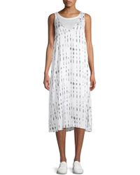 Kenneth Cole - Printed Tank Dress - Lyst