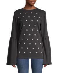 South Parade Christy Cotton Sweatshirt - Gray