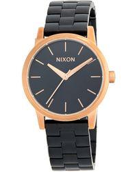 Nixon - Small Kensington Stainless Steel Bracelet Watch - Lyst