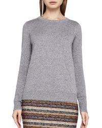 BCBGeneration - Crossback Cotton Sweater - Lyst